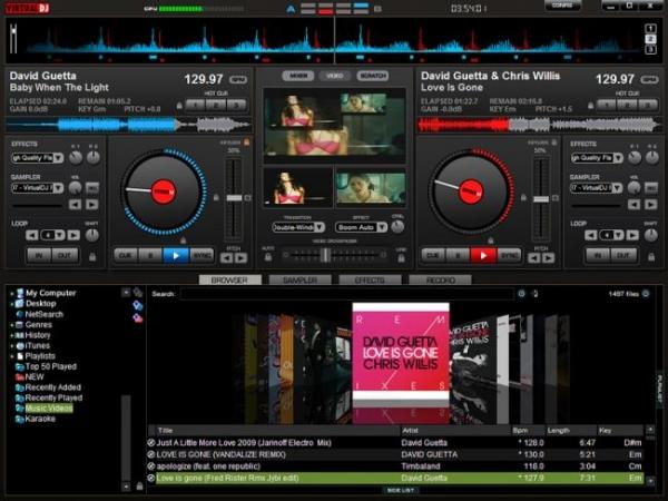Atomix VirtualDJ Pro's picture, Dream Sound Media